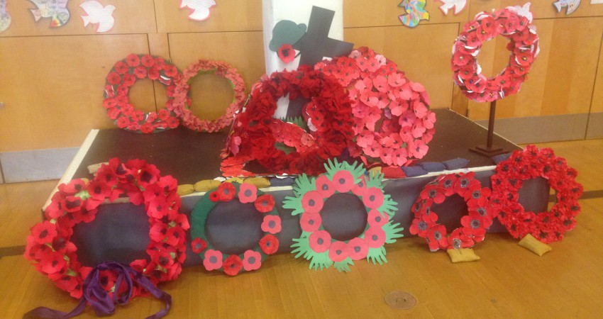 Remembrance Day Wreaths 2015