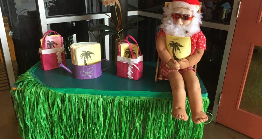 Tropical Santa